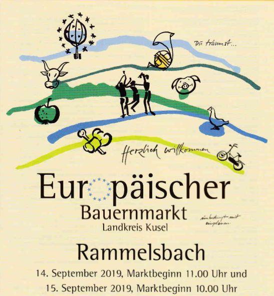28. Europäischer Bauernmarkt in Rammelsbach