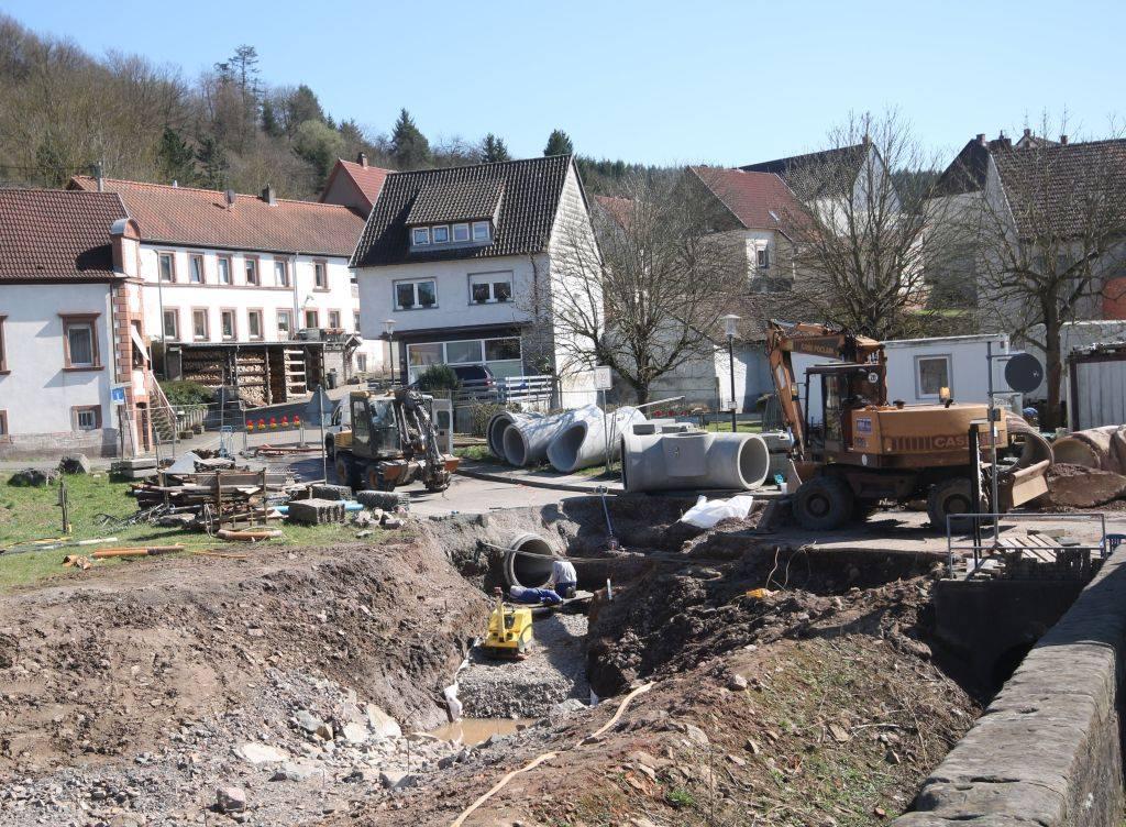 Weiterführung der Straßenbaumaßnahmen
